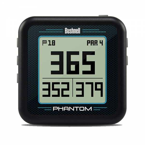 BOITIER GPS BUSHNELL PHANTOM NOIR - gps et télémètres de golf