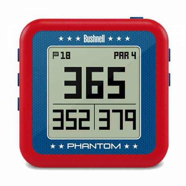 BOITIER GPS BUSHNELL PHANTOM ROUGE - gps et télémètres de golf