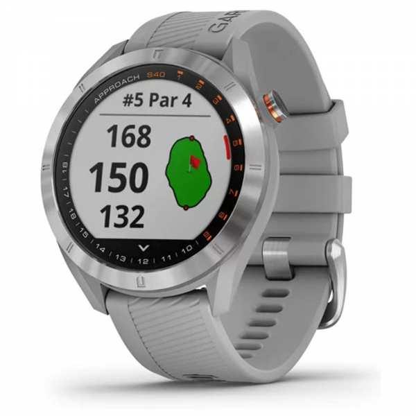 MONTRE GPS GARMIN S40 GRISE - gps et télémètres de golf