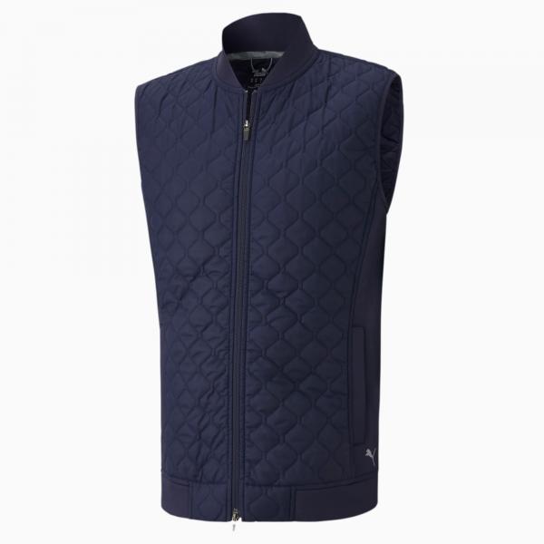GILET DE GOLF HOMME PUMA PRIMALOFT MARINE - vêtements de golf