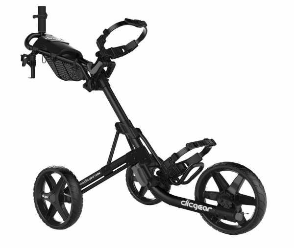 CHARIOT MANUEL 3 ROUES CLICGEAR 4.0 NOIR - chariots de golf