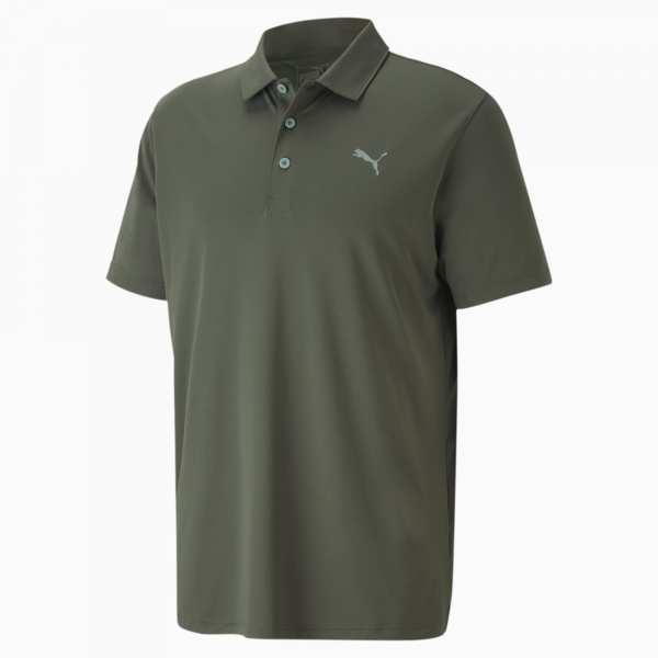 POLO HOMME PUMA ROTATION VERT FONCÉ - vêtements de golf