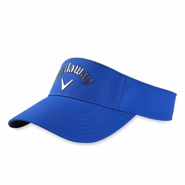 VISIERE CALLAWAY LIQUID METAL BLEUE - casquettes