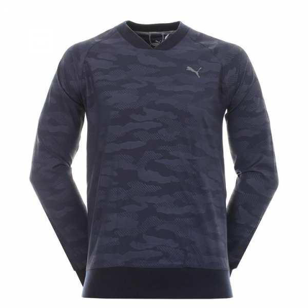 PULL HOMME PUMA PUSH FASHION MARINE - vêtements de golf