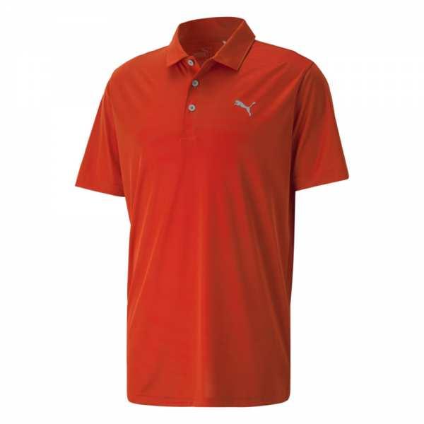 POLO HOMME PUMA ROTATION  ORANGE - vêtements de golf
